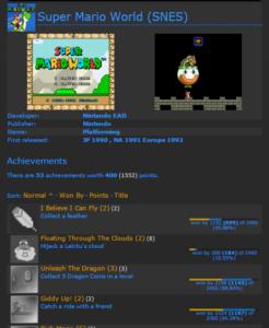 achievement mw