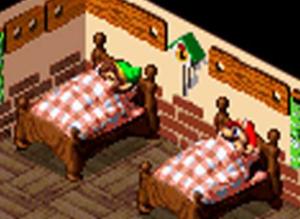 Link tirando uma soneca antes de salvar Hyrule