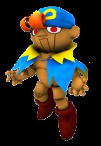 """Geno, um misterioso guerreiro, enviado por uma autoridade """"superior"""" para restaurar a paz no reino do cogumelo."""