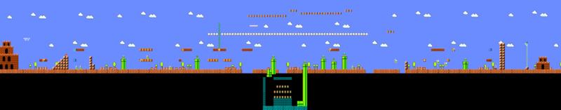 Veja o projeto de uma fase do Super Mario clicando na imagem acima.
