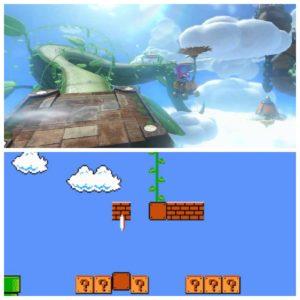 As referências são tantas em Mario Kart 8! A videira e a caixa do NES também não escaparam!