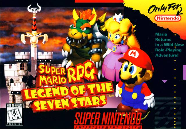 Super Mario RPG - The Legend of Seven Stars - SNES