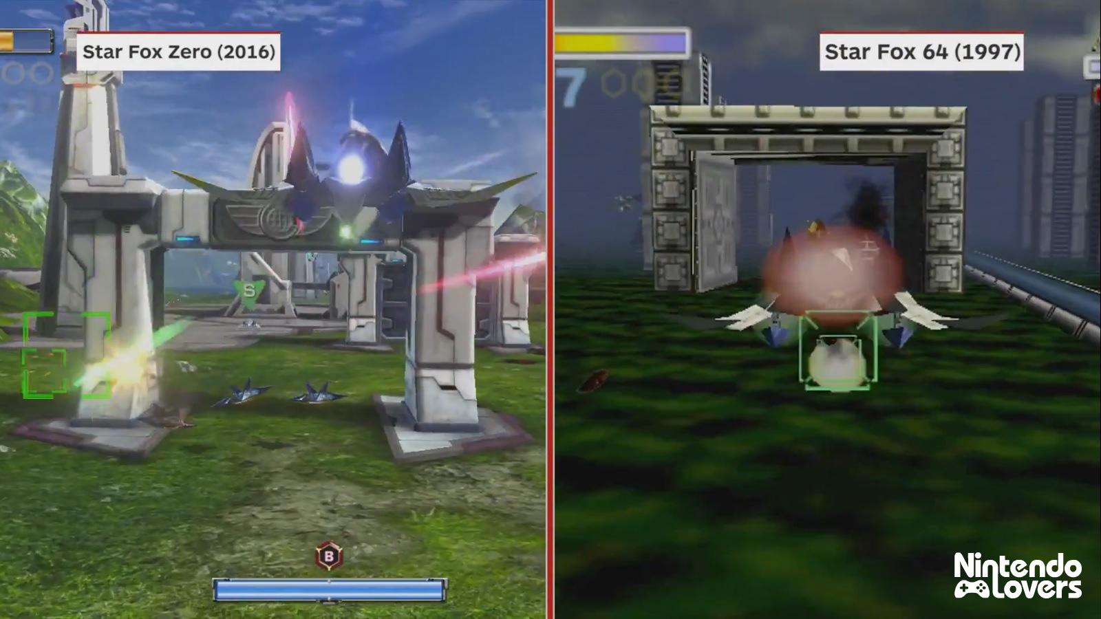 StarFox Zero x StarFox 64