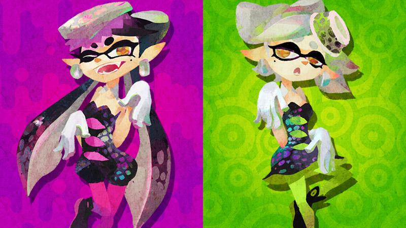 Callie x Marie! A última splatfest. :(