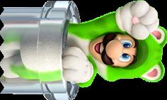 Cat_Luigi_Pipe_Artwork_-_Super_Mario_3D_World