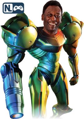 Tenho que matar uns Metroid, entende?