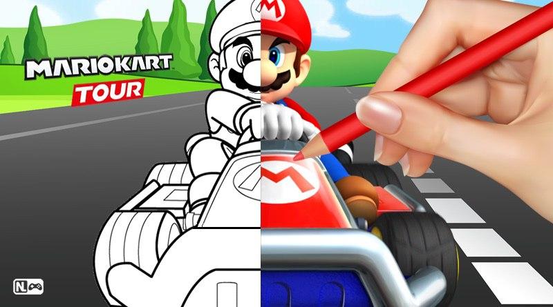[VOCÊ NO CONTROLE] Mario Kart Tour