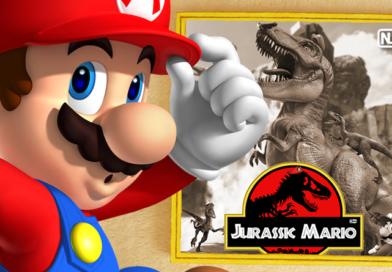 Imagem do Dia: Jurassic Mario