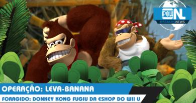 Nintendo POWdcast #55 – POWdnews: Presidência, relatório, Donkey Kong fujão e Online