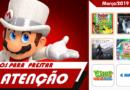 [VÍDEO] Março/2019 – Jogos de Nintendo Switch e de 3DS para prestar atenção