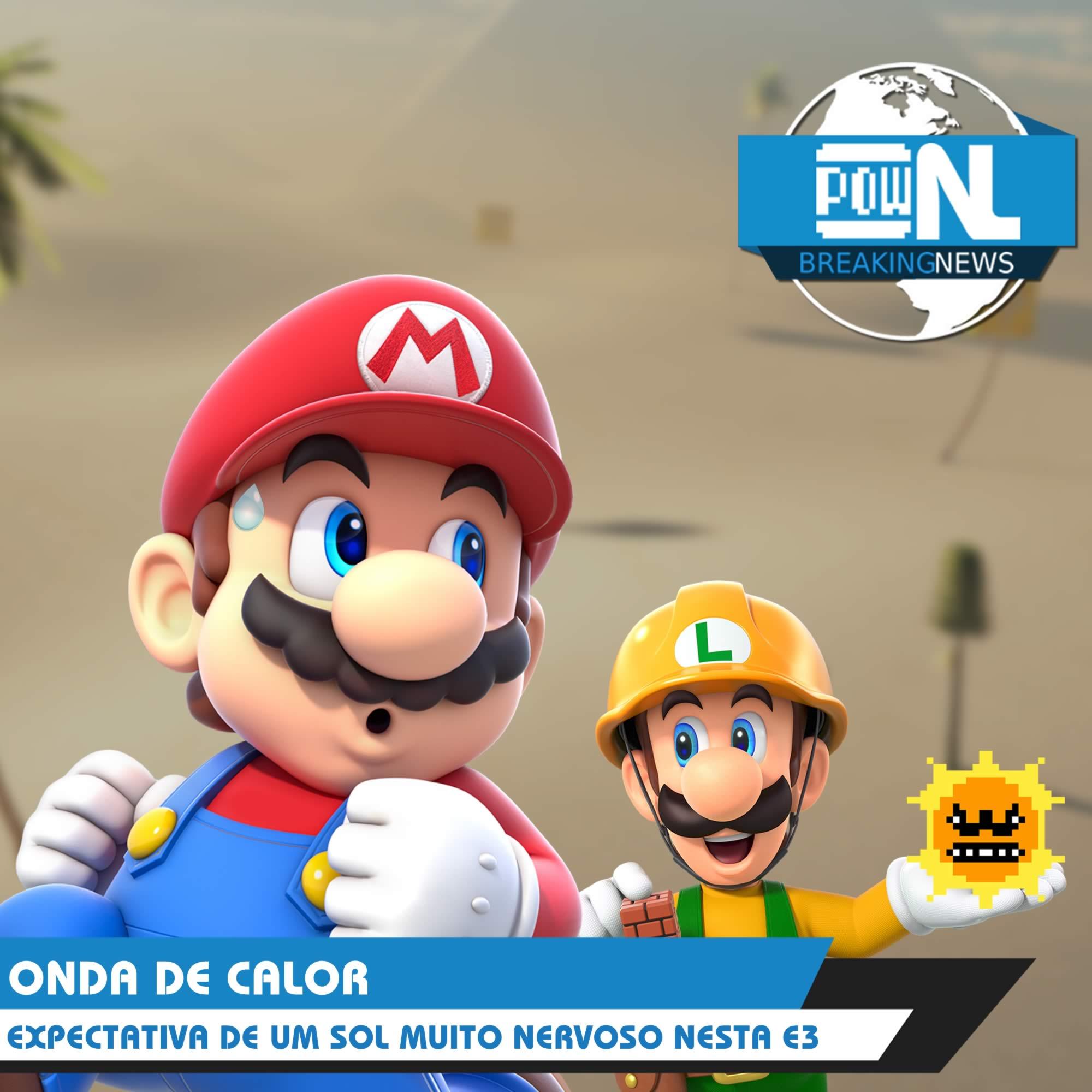 Nintendo POWdcast #83 – POWdnews: Mario Maker 2, Vendas, Jogos e Expectativas para E3