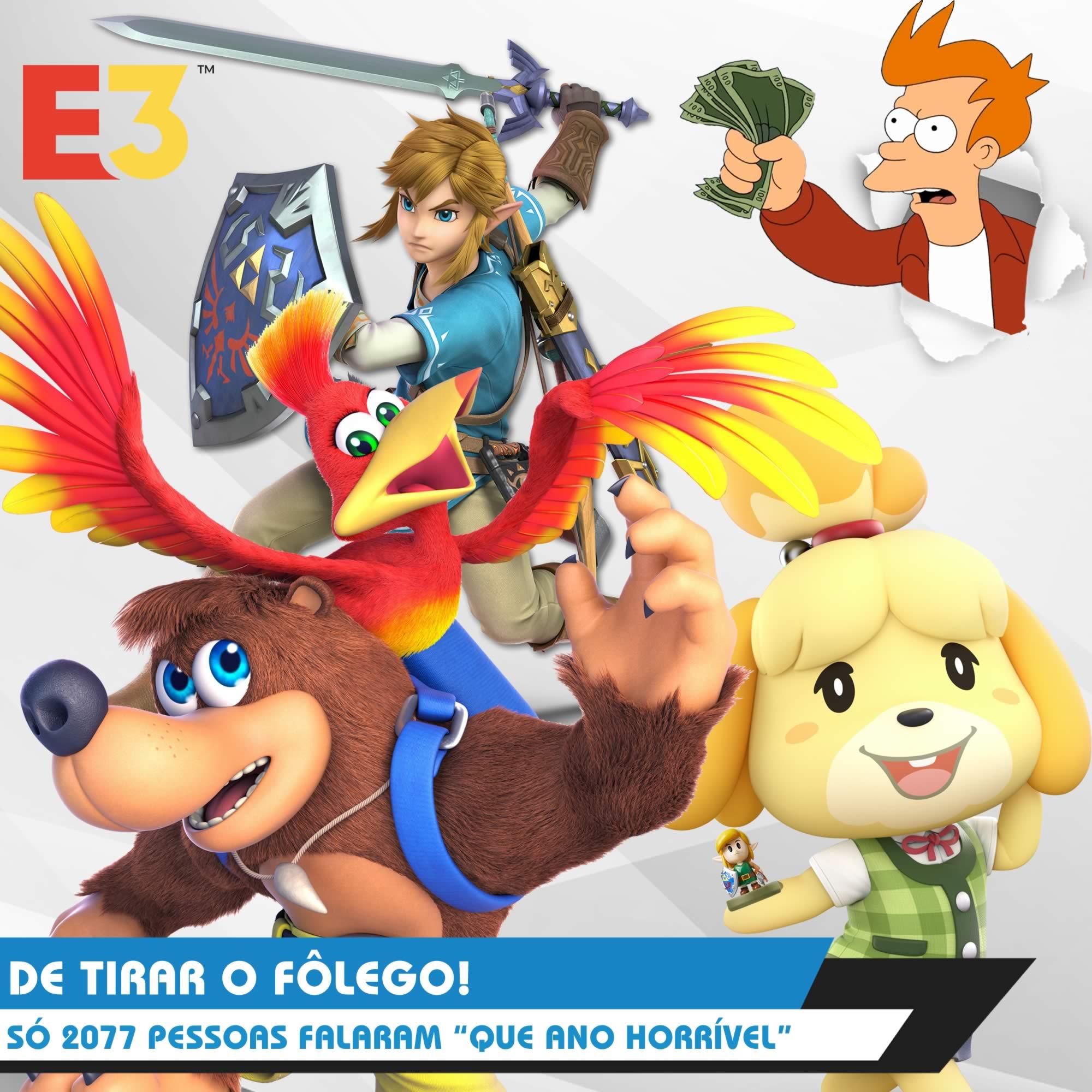 Nintendo POWdcast #84 – E3 2019