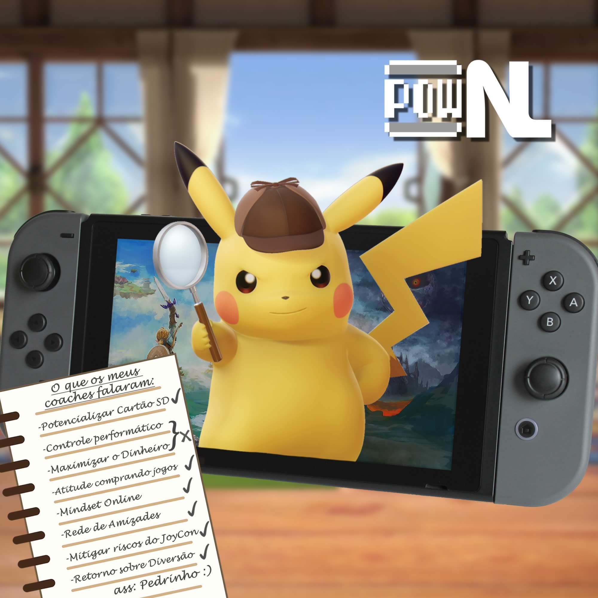 Nintendo POWdcast #88 – Desvendando o Nintendo Switch: acessórios, funções e muito mais!
