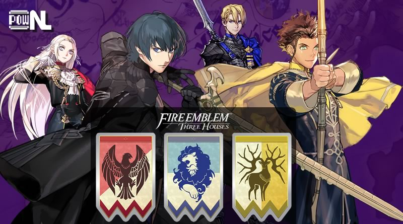 Nintendo POWdcast #92 – Fire Emblem: Three Houses (Sem Spoilers)