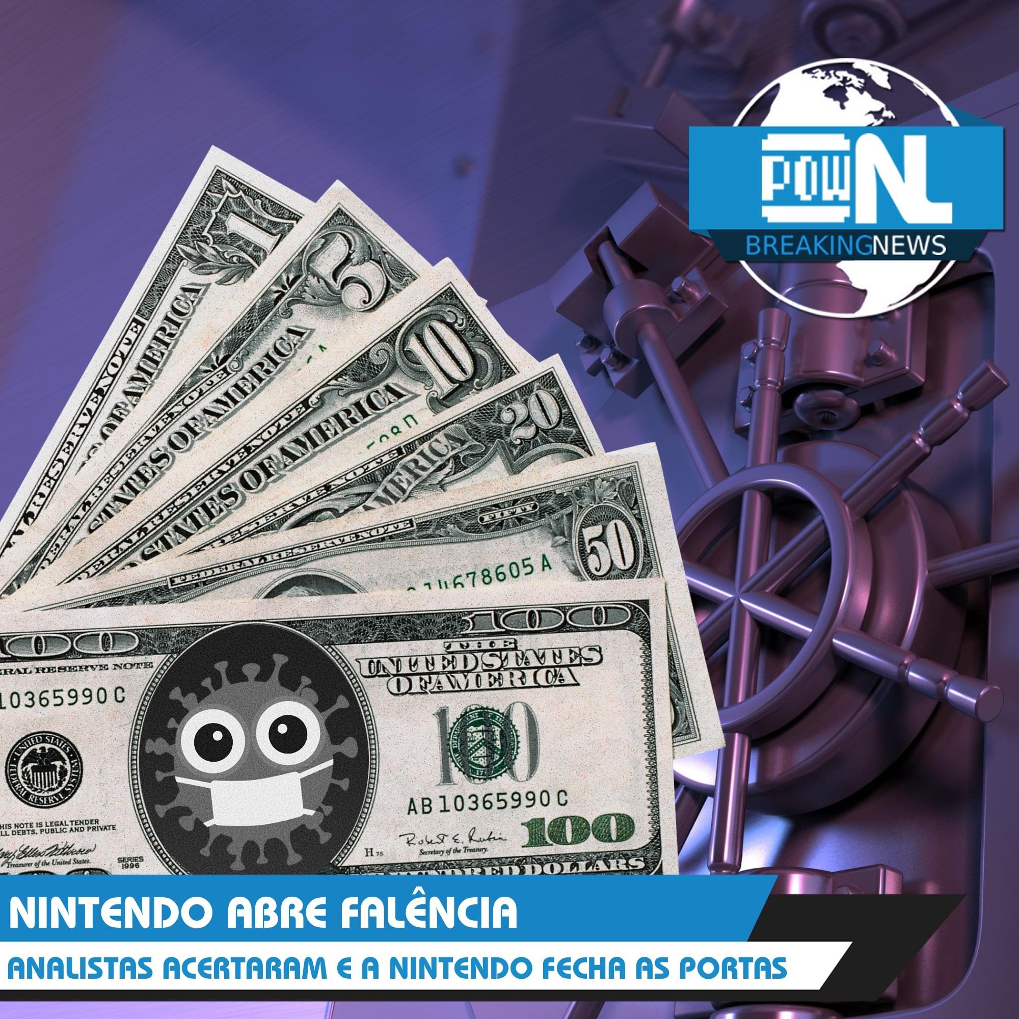 Nintendo POWdcast #110 – POWdnews: Relatório Fiscal (Q4/2019), Updates, Eventos e mais.