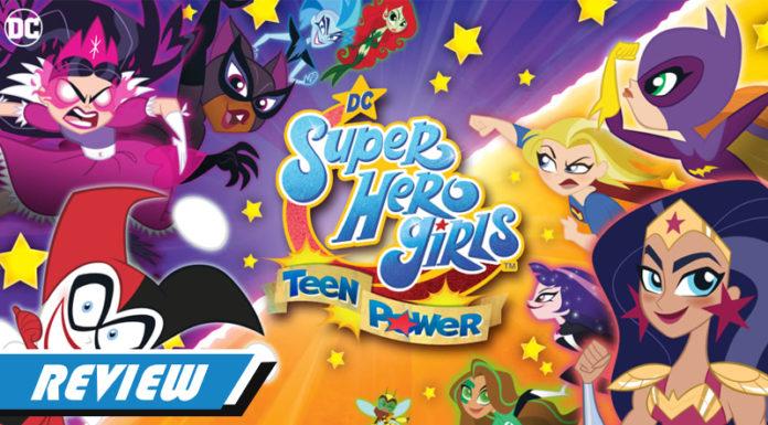 DC Super Heroes Girls: Teen Power Capa