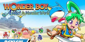 Wonder Boy: Asha in Monster World Capa